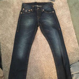 True religion slim jean with flap BNWT SZ 28